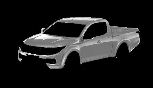 Цвета кузова Fullback Extended Cab